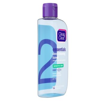 Clean & Clear Essentials Deep Cleaning Toner for Sensitive Skin, 240ML