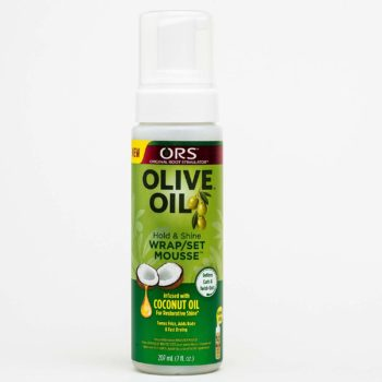 ORS Olive Oil Hold & Shine Wrap/Set Mousse Coconut Oil 207ml