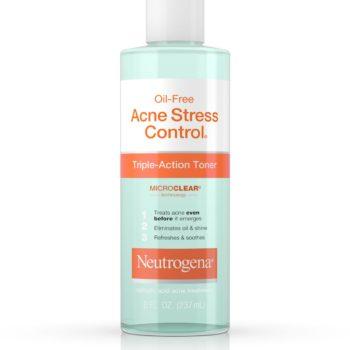 Neutrogena Oil-Free Acne Stress Control Triple-Action Toner, 237ML