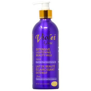 Violet Glow Extensive Lightening Beauty Milk, 500ML