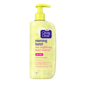 Clean & Clear Morning Burst Skin Brightening Facial Cleanser, 240ML