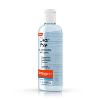 Neutrogena Clear Pore Oil-Eliminating Astringent, 236ML