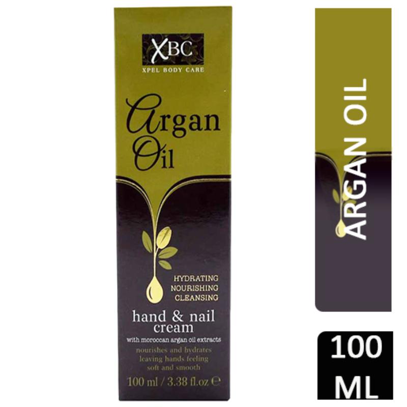 XBC Argan Oil Hand &Nail Cream 100ml