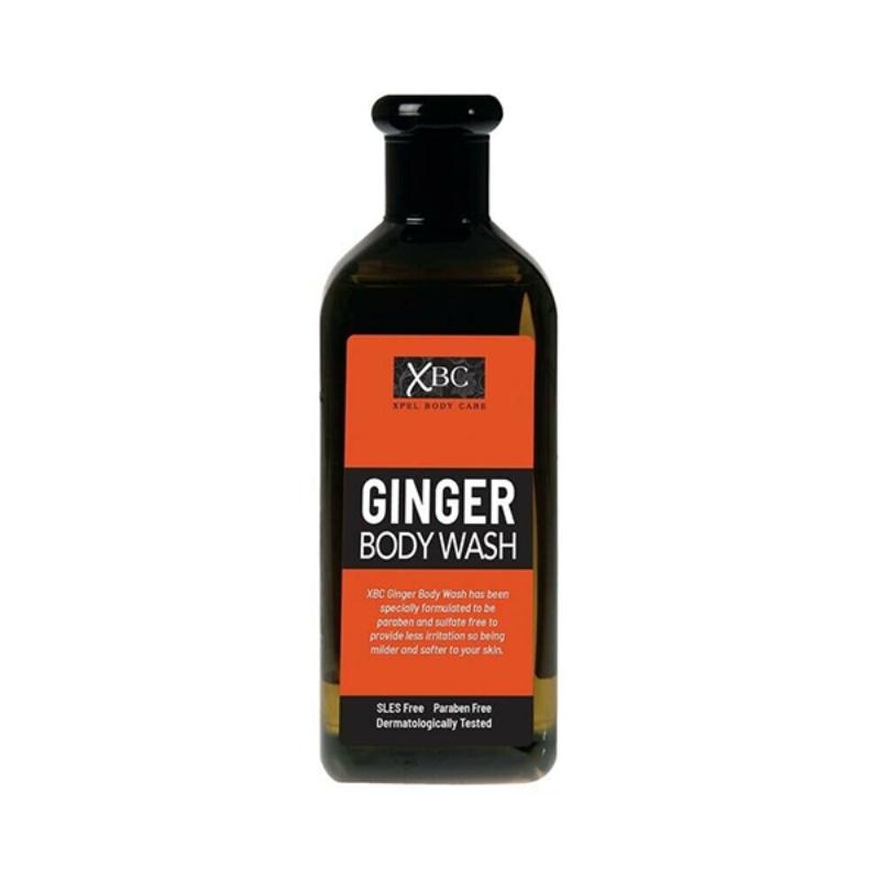XBC Ginger Body Wash 400ml