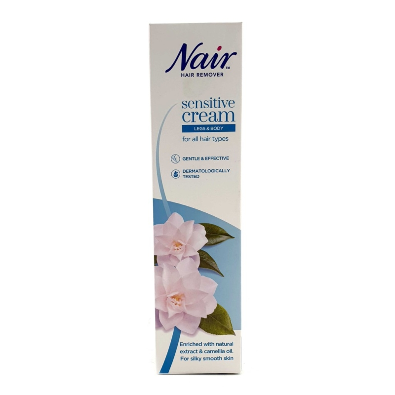Nair Hair Remover Sensitive Cream For Legs And Body, 80ML