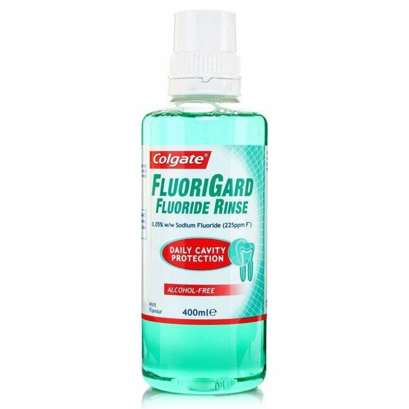 Colgate Fluorigard Fluoride Rinse, 400ML