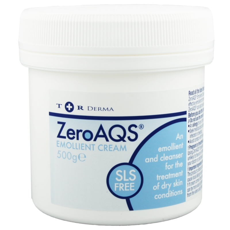 ZeroAQS Emollient Cream 500G